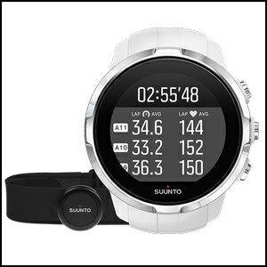 【アクティビティ特集】 Suunto スント スパルタン スポーツ ホワイト ハートレートベルト付き アウトドア メンズ レディース 腕時計 SS022650000