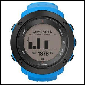 【アクティビティ特集】新品 即日発送 SUUNTO スント アンビット3 バーティカル ブルー メンズ レディース 腕時計 SS021969000