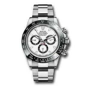 新品 即日発送可 ロレックス デイトナ ホワイト 自動巻き 時計 メンズ 腕時計 116500LN
