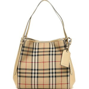 [Music for tomorrow] Burberry Small Canter in Horse Ferry Check Ladies Tote Bag 4003517 7120B