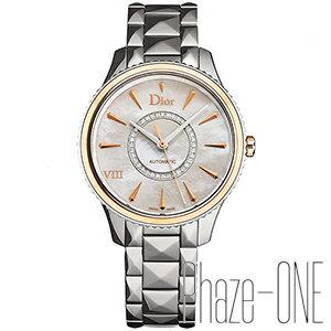 クリスチャン ディオール モンテーニュ スチール ローズゴールド ダイヤモンド 36mm 自動巻き レディース 腕時計 CD1535I0M001