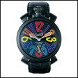 新品 即日発送 GaGa MILANO ガガミラノ マヌアーレ 手巻き 時計 48MM レザー ベルト メンズ レディース 腕時計 5012.03S