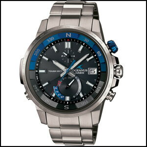 カシオ オシアナス カシャロ ソーラー 電波 時計 メンズ 腕時計 OCW-P1000-1AJF