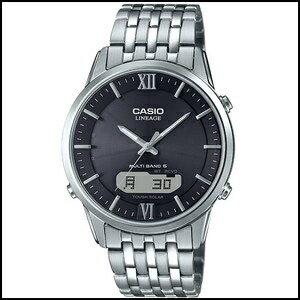 【コスパ高め】CASIO カシオ リニエージ デジアナ ソーラー 電波 時計 メンズ 腕時計 LCW-M180D-1AJF