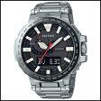 【特集】 CASIO カシオ プロトレック マナスル デジアナ ソーラー 電波 時計 メンズ 腕時計 PRX-8000MT-7JR