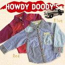【新品 即日発送】 HOWDY DOODY'S/チェックシャツ/秋冬物/P32085