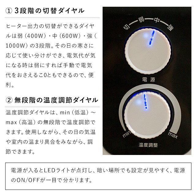 遠赤外線ストーブ360度暖かい!広範囲に温かさが広がる 暖房機 遠赤外線 パノラマヒーター