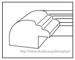 30%OFF木製フォトフレームサイズキャビネ(2L)YM-3写真額縁壁掛けスタンド付きカビネ安いシンプル127×178フジカラーFUJICOLOR