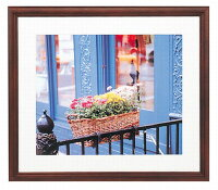 30%OFF木製フォトフレームサイズ六つ切り6切りYM-3額縁安い203×254ナチュラルYM3家族写真記念写真フジカラーFUJICOLOR