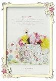 20%OFF写真立てハガキサイズMJ86-P-PK/YEラドンナ小さなお花が可愛いブライダルフレーム【フォトフレーム・LADONNA・ポストカード判・ご結婚】