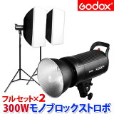 ■モノブロックストロボ300W・GODOX_K300