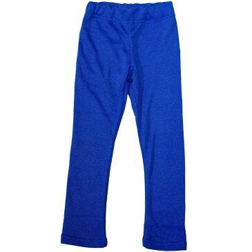 【メール便 送料無料】ボーイズ キッズ 暖か裏起毛ロングパンツ (ブルー 100cm 110cm 120cm 130cm) ボーイズ キッズ ボトムス 全5色