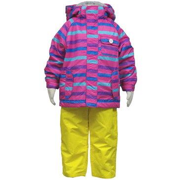 ガールズ キッズ オンヨネスキーウエア (ピンク/イエロー 100cm 110cm 120cm 90cm) ガールズ キッズ スキーウェア 全3色