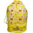 女の子リラックマプールバッグ ビーチバッグ (イエロ− 36x22) ガールズ キッズ 水着 全1色