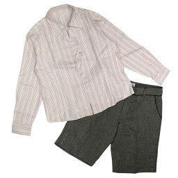 レディース 大きいサイズ 福袋 3L 長袖シャツ ボトムス 2枚セット 訳あり B品