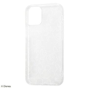 iPhone 12 mini ケース ディズニー TPU ソフトケース キラキラ ミッキーマウス アイフォン アイホン ケース docomo au softbank カバー アイフォン12 ミニ iphone12mini