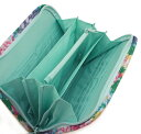 【fafa/フェフェ 母子手帳ケース/マルチS メール便送料無料】MICHALINA (Multi Case)【サイズS】/ラベンダーマルチフラワー/母子手帳ケースや通帳、カード入れとして便利なジャバラタイプのマルチケース 2