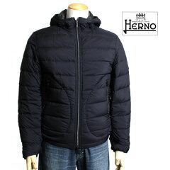 HERNO ヘルノ メンズ ダウンジャケット ダウンコート リバーシブル ダウン PI0097U 19288 9200 ...