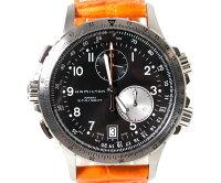 HAMILTONハミルトン腕時計KhakiETOカーキE.T.OH77612933オレンジクロノグラフ