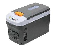 【送料無料】メルテック車用冷蔵保温庫18LDC12/24V対応LS-01デジタル表示庫内窓付き