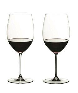 【送料無料 正規品】リーデル Riedel ワイングラス ヴェリタス カベルネ/メルロー 625ml 6449/0 2脚セット 箱入 RJ