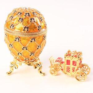 Coronation Egg エッグの中から現れる馬車がとても印象的エッグと馬車は小物入れとして使用でき...