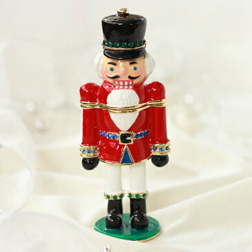 <くるみ割り人形 ジュエリーボックス>にキラキラの小物入れ Xmasプレゼント Nutcracker ジュエリーケース ギフト 卒業 入学 可愛い 誕生日プレゼント 女性 クリスマスツリー クリスマス 新生活 ピックアップ 母の日