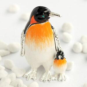 ペンギン ジュエリー ボックス インテリア クリスタル プレゼント バレンタイン