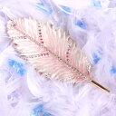 <リーフトレイ アクセサリートレイ>アクセサリートレー 小物置き リングや鍵をちょこっと置くのに便利 ピンクの葉っぱのような羽根 ピィアース ギフト 卒業 入学 可愛い 誕生日プレゼント 女性 クリスマス 新生活 母の日