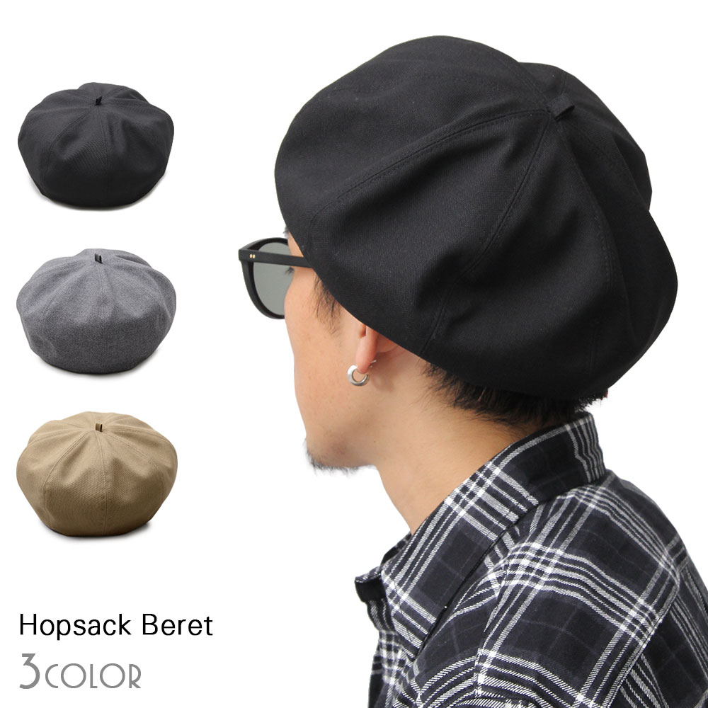 メンズ帽子, ベレー帽  BERET 8