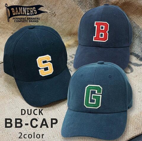 帽子 キャップ メンズ BBキャップ ダック DUCK ワッペン ロゴ PENNANTBANNERS