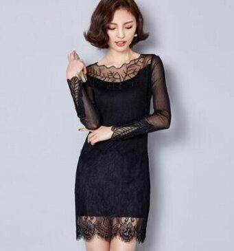 刺繍レースワンピース ドレス 大きいサイズ ミニ丈 メール便 送料無料 クリスマスプレゼント