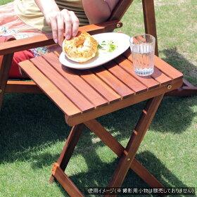 デッキチェアーセットサイドテーブルガーデンチェア木製デッキチェアオイル加工オイルフィニッシュ本格仕様折り畳み式グリーン色※デッキチェアとサイドテーブルのセット