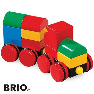 BRIO(ブリオ)【30124】マグネット式スタッキングトレイン/木のおもちゃ