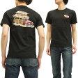 レインスプーナー Tシャツ 5382 Reyn Spooner Surf Stack メンズ 半袖tee 152-5382 ブラック 新品