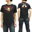 ステュディオ・ダ・ルチザン Tシャツ 9746 studio d'artisan 豚 ギター チェーン刺繍 メンズ 半袖tee ブラック 新品
