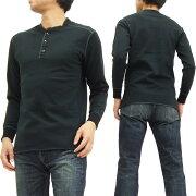 ヘンリー Tシャツ ブラック