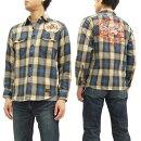 トイズマッコイネルチェックワークシャツTMS1614TOYSMcCOYメンズ長袖シャツ新品
