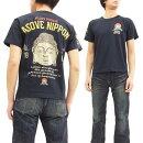 喜人TシャツKJ-71016大仏様メンズ和柄半袖Teeブラック新品