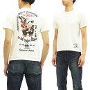 サムライジーンズTシャツSJST17-102牛若丸弁慶SamuraiJeansメンズ半袖tee