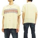 スタイルアイズオープンシャツSE37607ボーダー柄東洋エンタープライズメンズ半袖シャツ