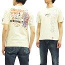 粋狂TシャツSYT-172義侠心エフ商会和柄メンズ半袖tee