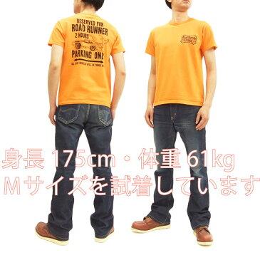 ロードランナー Tシャツ CH78006 Cheswick チェスウィック 東洋 メンズ 半袖tee #159オレンジ 新品