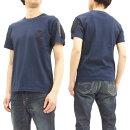 アルファTシャツTC1261ALPHAメンズワッペンポケット付き半袖TeeTC1261-0004ネイビー新品