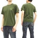 アルファTシャツTC1261ALPHAメンズワッペンポケット付き半袖TeeTC1261-0021A.グリーン新品