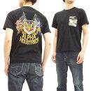 アルファTシャツTC1262ALPHA迷彩ポケット付きメンズ半袖TeeTC1262-0001ブラック新品