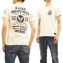 アルファヘリンボーンTシャツTC1263ALPHAメンズ半袖TeeTC1263-0018オフ白新品