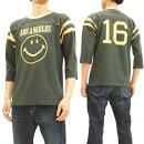 トイズマッコイ7分袖フットボールTシャツTMC1801スマイルTOYSMcCOYメンズ七分袖Tee