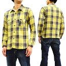 フェローズ18W-750WS-CチェックネルシャツPherrow'sPherrowsメンズワークシャツ長袖シャツ