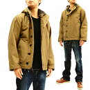 バズリクソンズBR14143N-1パーカーフックデッキジャケットBuzzRicksonメンズN1デッキフードJKT新品
